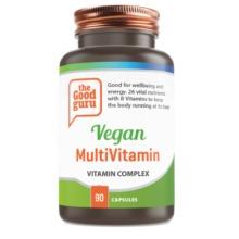 Vegan Multivitamin Supplements, No Added Sugar, Gluten-free, NON-GMO