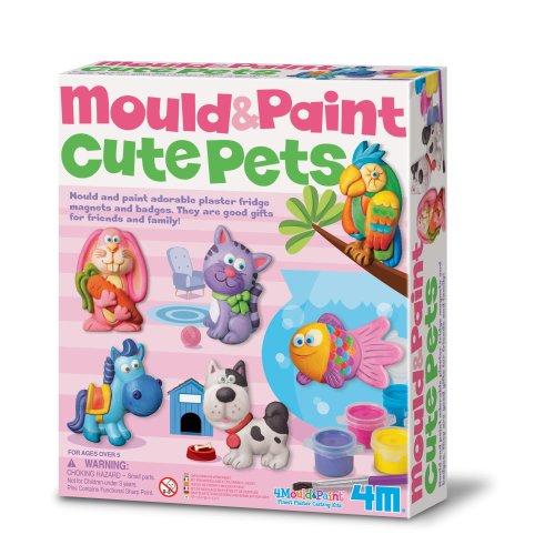 Cute Pets Mould & Paint Kit
