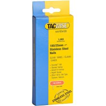 Tacwise 1066 180/25mm Stainless Steel Nails for Nail Gun (1000 Pieces)