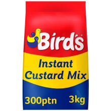 Birds Instant Custard Mix - 4x3kg