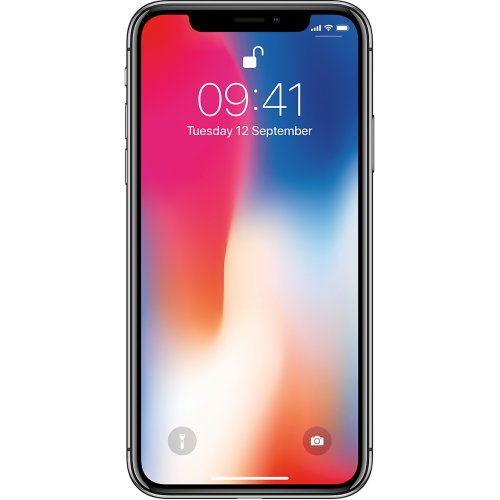 (Unlocked, 256GB) Apple iPhone X   Space Grey