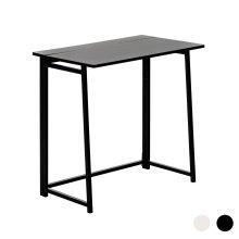 Folding Computer Desk Laptop PC Home Office University Wood Study Table - Black