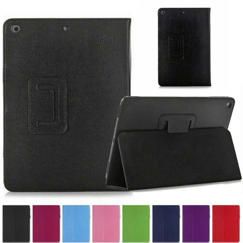 """Leather Wallet Flip Case Cover For Apple iPad 10.2"""" 2020 8th Gen"""