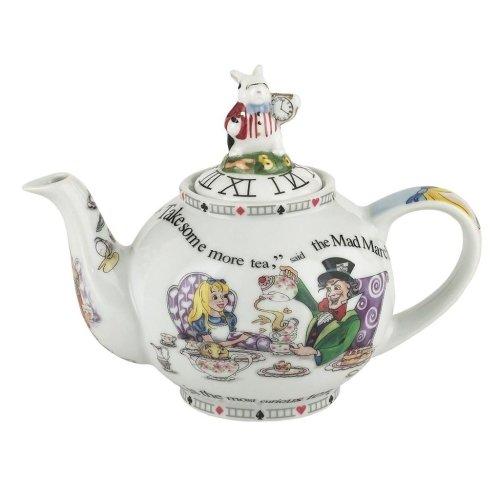 Cardew Alice in Wonderland 18 oz 2 Cup Teapot