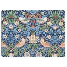 Pimpernel Morris & Co Strawberry Thief Placemats, Blue, Set of 6