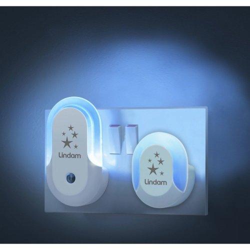 Lindam 2pc Nursery Night Light & Sensor Light Set