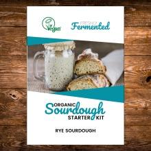 Certified Organic Rye Freeze-Dried Sourdough Starter