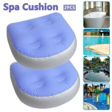 2 x Home Spa Booster Seat Inflatable Spa Cushion Hot Tub Accessories Adult Kids