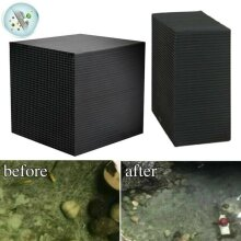 Eco-Aquarium Water Purifier Water Cleaning Filter Activated Carbon Cube Block