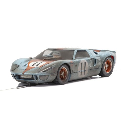 Scalextric Ford GT40 Gulf #11 Weathered