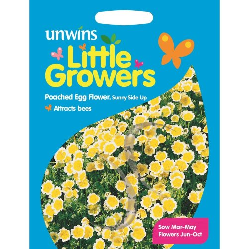 Unwins Grow Your Own Little Growers Poached Egg Sunny Side Up Flower Seeds