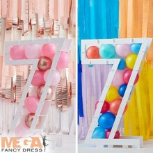 Balloon Mosaic Number Stand - 7