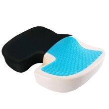 ORTHOPEDIC GEL OFFICE CAR CHAIR SEAT CUSHION BACK SUPPORT COCCYX SCI