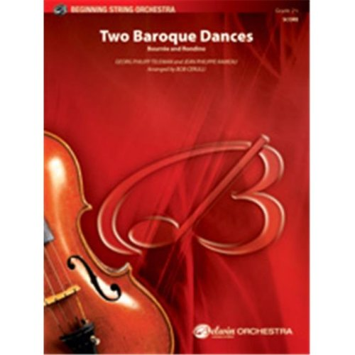Alfred 00-35906 TWO BAROQUE DANCES-BBS