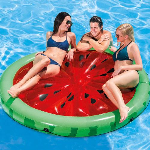 Intex Inflatable Pool Float Watermelon Island Water Lounge Mattress 56283EU