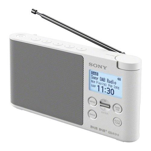 SONY XDR-S41DW Portable DABﱓ Radio - White, White
