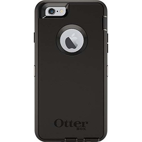 Otterbox Defender Series Protection Rugged Case Cover + Belt Clip Holster for Apple iPhone 6/6s - Black