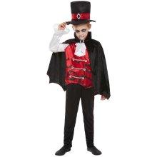 Boys Halloween Vampire Fancy Dress Costume Age 7-9