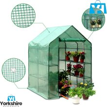 Replacement Spare Mesh PE Sheet Cover Only for Walk In Greenhouse Waterproof