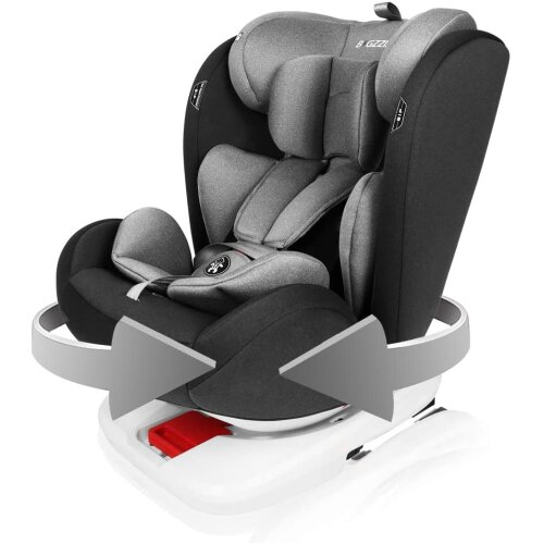 Rotation 360°Booster Seat Baby Car Seat for 0-12 Years