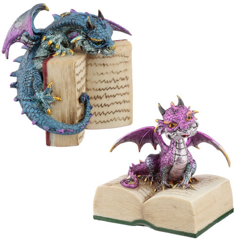 Reading Elements Dragon Figurine