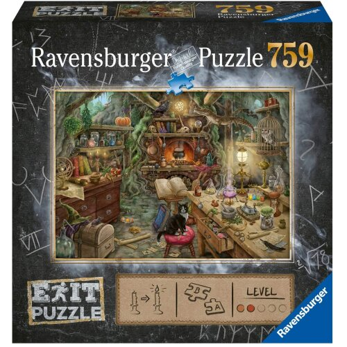 Ravensburger Exit Puzzle – Witch's Kitchen 759pc Mystery Jigsaw Puzzle