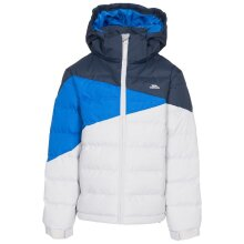 TRESPASS: LAYOUT - MALE CASUAL JKT - PALE GREY - 9-10 YRS