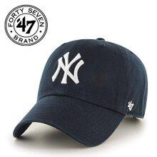 47 MLB New York Yankees Brand Navy Basic Logo clean Up Home Adjustable Hat
