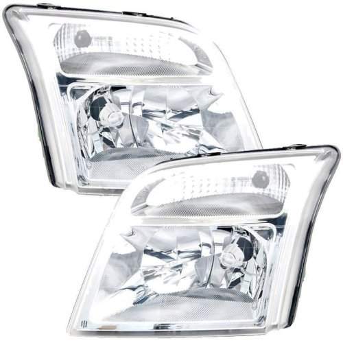 Ford Transit Connect 2002-> Headlights Headlamps 1 Pair O/s & N/s