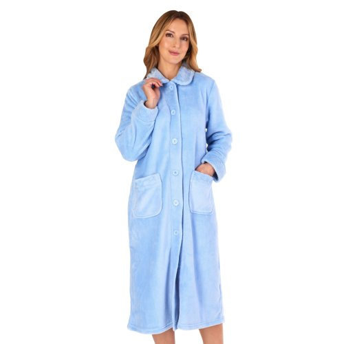 Slenderella HC4301 Women's Housecoats Dressing Gown