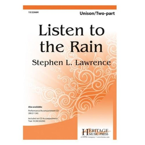 Alfred 00-41562 LISTEN TO THE RAIN-STRX CD