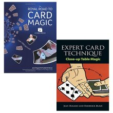 Royal road to card magic, expert card technique 2 books collection set