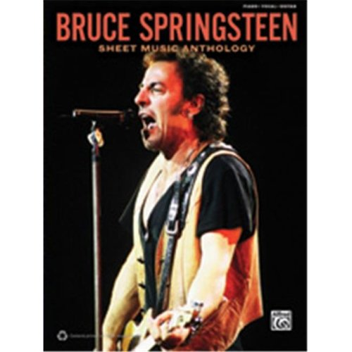 Alfred 00-37574 BRUCE SPRINGSTEEN SHEET ANTH - PVG