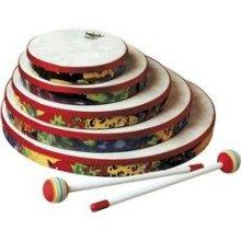 Remo Kids Percussion 10 inch Hand Drum in Rainforest Design Age 5