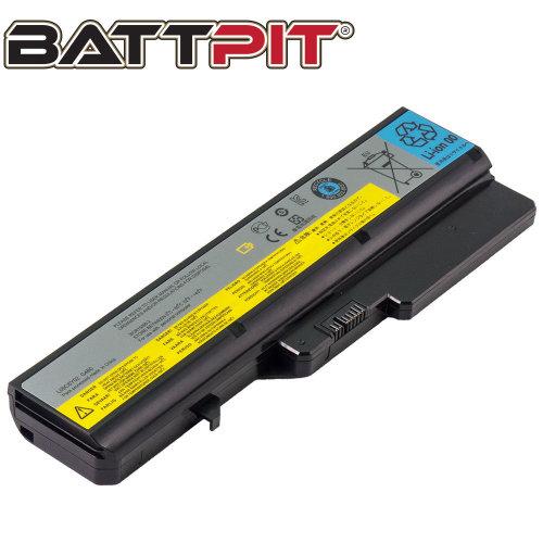 BattPit Battery for Lenovo L09S6Y02 L09L6Y02 L09M6Y02 L10C6Y02 L10P6Y22 IdeaPad G560E G570 G780 Z370 Z565 Z570 Z575 B570 B570e2 [6-Cell/48Wh]
