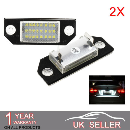 LED License Number Plate Light Lamp For FORD FOCUS C-MAX MK2 Lu01