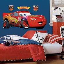 RoomMates Disney Cars Lightning McQueen Giant Wall Stickers