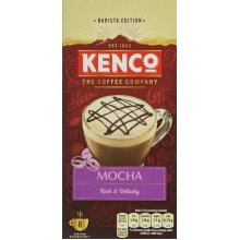 Kenco Mocha Instant Coffee, Pack of 5, 40-Count