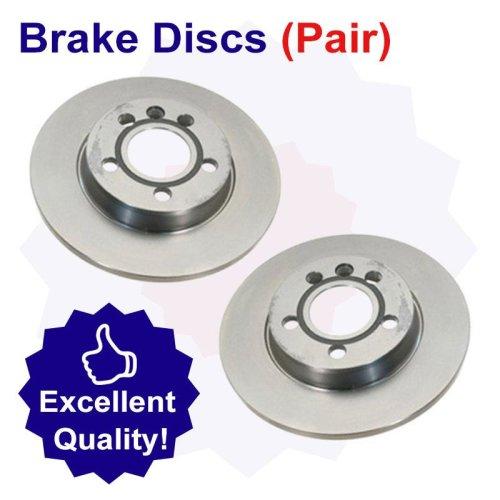 Rear Brake Disc for Citroen ZX 1.9 Litre Diesel (01/91-10/98)