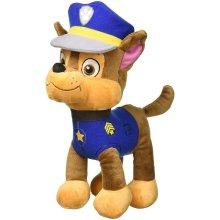 PAW PATROL - CHASE, GERMAN SHEPHERD - POLICE PLUSH TOY (30CM - 11'81') GOOD QUALITY - COLOUR BLUE -