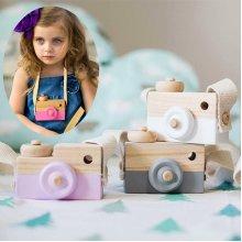 Wood Camera Children Room Decor Nursery Toys