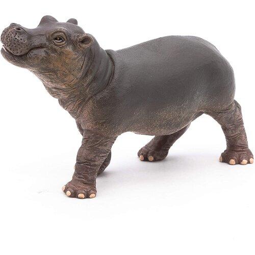 Papo 50052 Hippopotamus calf WILD ANIMAL KINGDOM Figurine, Multicolour