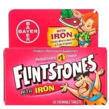 Flintstones, Children's Multivitamin with Iron, Fruit Flavors