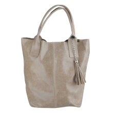39x36x20 cm - Leather Tote Bag - Made in Italy