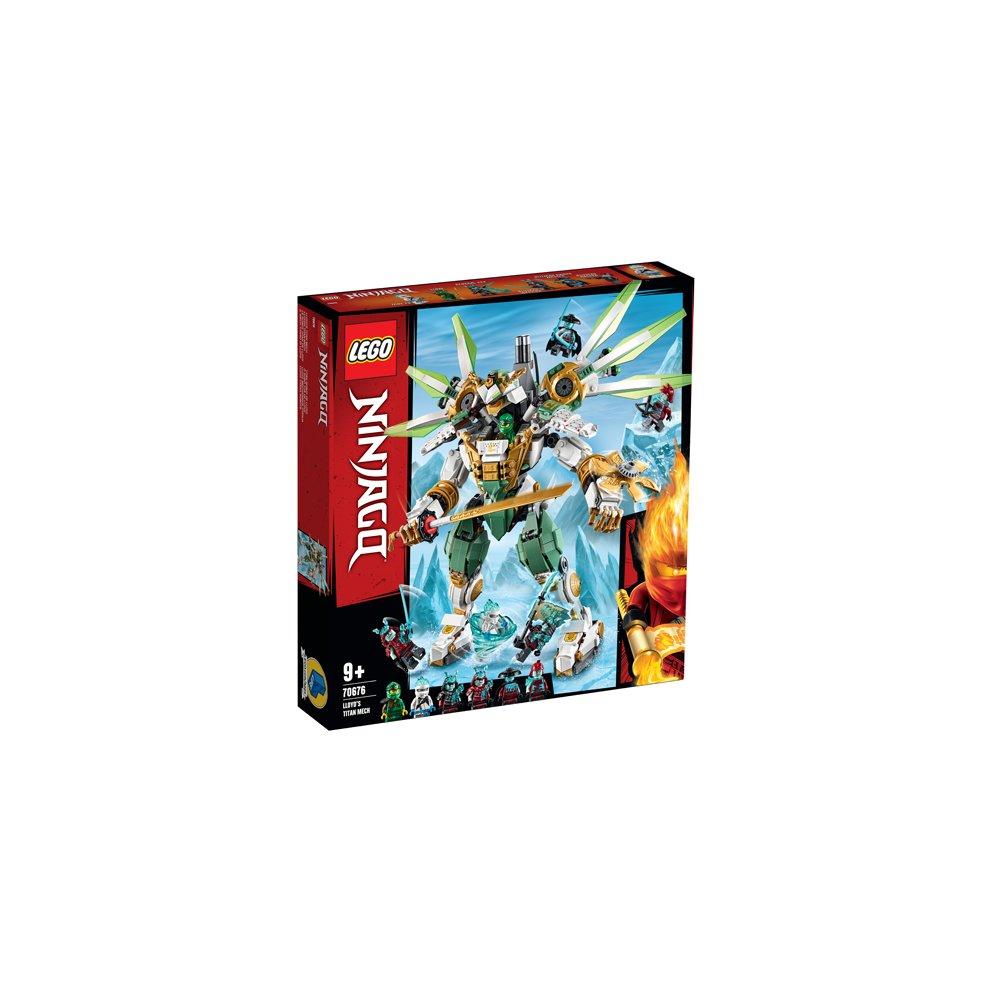 Lego Ninjago 70676 Lloyd S Titan Mech On Onbuy