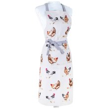 Chicken Designed Cotton Apron Home Kitchen Cooking BBQ Baking Protective Aprons