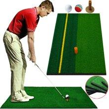 Golf Mat Training Aids Grass Sport Hitting Putting Home Backyard Practices Pad