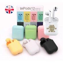 Wireless Headphones Earphones Mini TWS Inpods 12