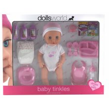 Dolls World 08124���Baby Tinkles Doll