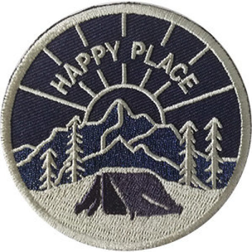 Patch - Outdoors - Happy Place Icon-On p-dsx-4780